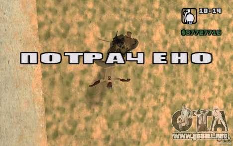 CJ caza V 2.0 para GTA San Andreas tercera pantalla