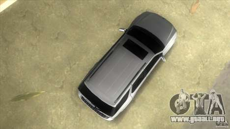 SAAB 9-7X para GTA Vice City visión correcta