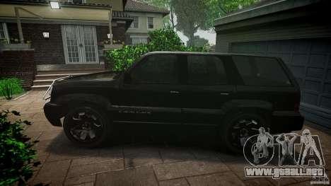 Cavalcade FBI car para GTA 4 left