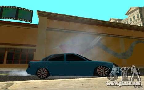 LADA 2170 Penza tuning para GTA San Andreas vista hacia atrás