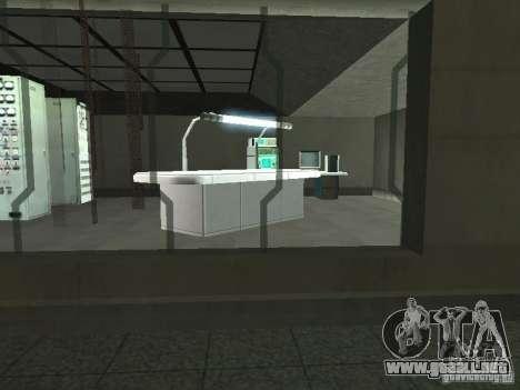 Zona abierta 69 para GTA San Andreas sucesivamente de pantalla