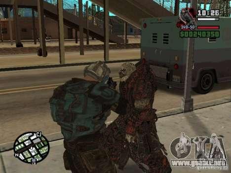 Lokast Theron guardia para GTA San Andreas sucesivamente de pantalla