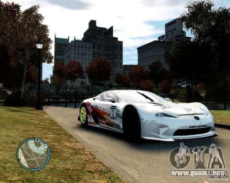 Lexus LFA Speedhunters Edition para GTA 4 left