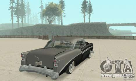 Chevrolet Bel Air 1956 para la vista superior GTA San Andreas