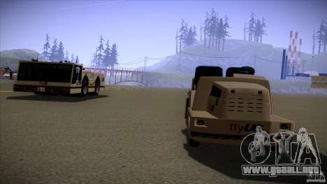 Air Tug from GTA IV para GTA San Andreas vista posterior izquierda