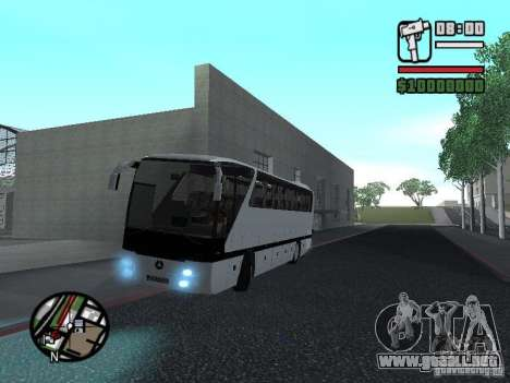 Mercedes Benz O 403 para GTA San Andreas left