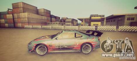 Tokyo Drift map para GTA San Andreas tercera pantalla