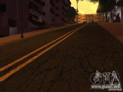 Nuevos caminos en la calle Grove para GTA San Andreas quinta pantalla