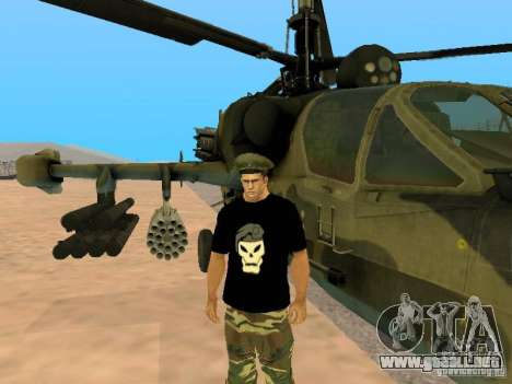 Ka-52 Alligator para GTA San Andreas left