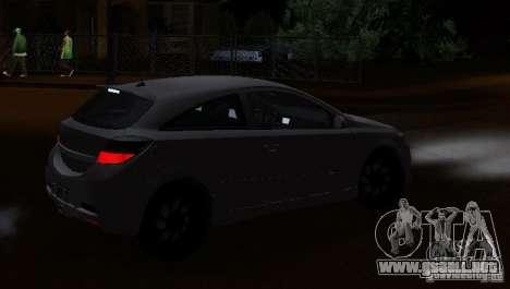 Opel Astra GSI para GTA San Andreas left