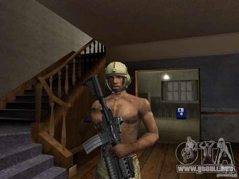Sombreros de Call of Duty 4: Modern Warfare para GTA San Andreas segunda pantalla