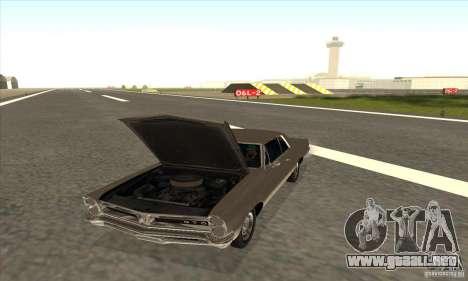 Pontiac GT-100 para la visión correcta GTA San Andreas