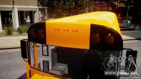 School Bus [Beta] para GTA 4 vista desde abajo