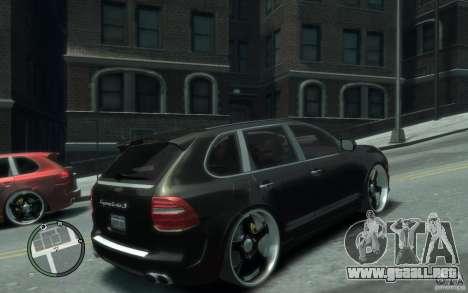 Porsche Cayenne para GTA 4 visión correcta