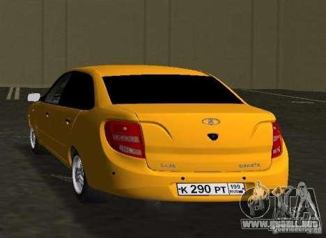Lada Granta v2.0 para GTA Vice City vista lateral izquierdo