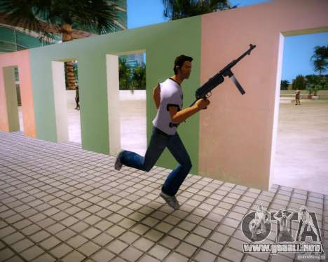 MP-40 para GTA Vice City sucesivamente de pantalla