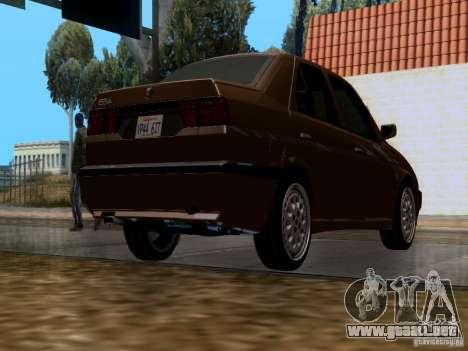 Alfa Romeo 155 para la visión correcta GTA San Andreas