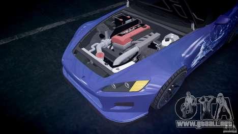 Honda S2000 2002 Tuning 2 calma la piel para GTA 4
