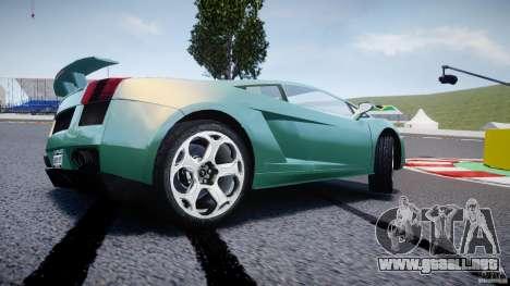 Lamborghini Gallardo para GTA 4 ruedas