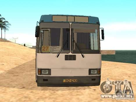 LAZ 52527 para GTA San Andreas left