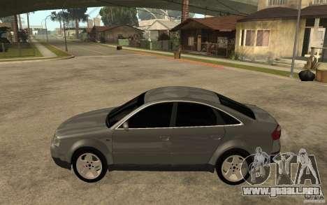 Audi A6 3.0i 1999 para GTA San Andreas left