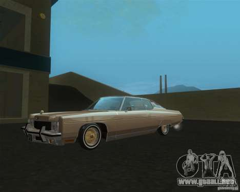Chevrolet Caprice Classic lowrider para GTA San Andreas