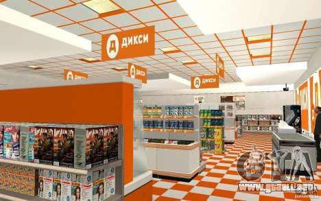 Nueva tienda de Dixie para GTA San Andreas segunda pantalla