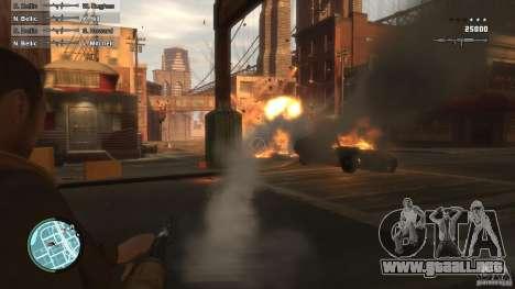 First Person Shooter Mod para GTA 4 tercera pantalla