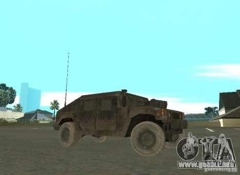 Hummer Cav 033 para GTA San Andreas left