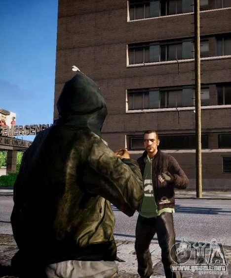 Bad Niko para GTA 4 sexto de pantalla