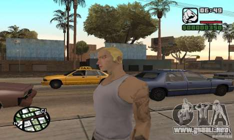 Eminem para GTA San Andreas tercera pantalla