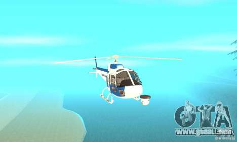 AS-350 Police para visión interna GTA San Andreas