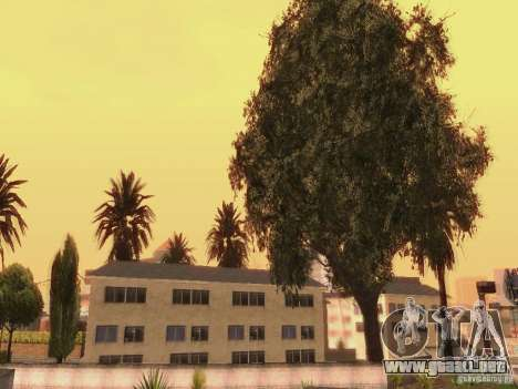 New trees HD para GTA San Andreas sexta pantalla