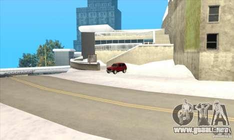 Vuelos en Liberty City para GTA San Andreas sucesivamente de pantalla