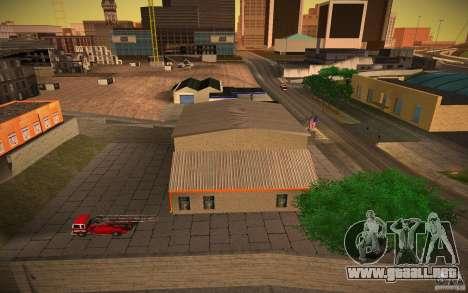Departamento de bomberos de HD para GTA San Andreas tercera pantalla