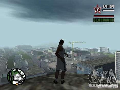 GUARDAR en cualquier lugar para GTA San Andreas quinta pantalla