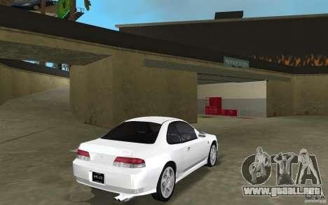 Honda Prelude 2.2i para GTA Vice City vista posterior