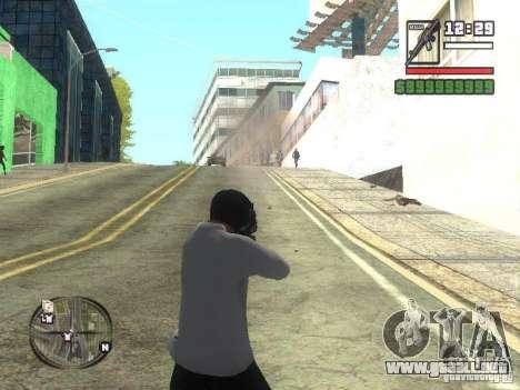 Black Helmet para GTA San Andreas segunda pantalla
