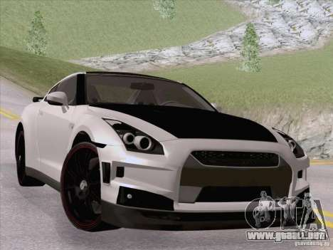 Nissan GTR Edited para GTA San Andreas left