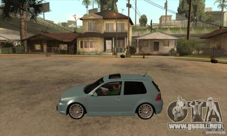 Volkswagen Golf R32 para GTA San Andreas left