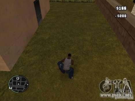 Marihuana v2 para GTA San Andreas segunda pantalla