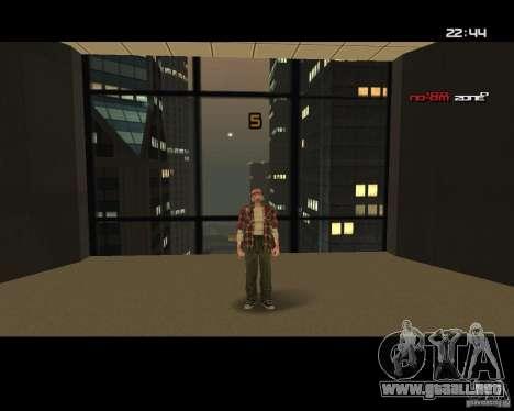 Change Skin para GTA San Andreas tercera pantalla
