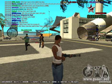 SA:MP 0.3d para GTA San Andreas décimo de pantalla