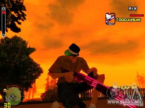 Hello Kitty weapon para GTA San Andreas tercera pantalla