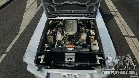 Shelby GT 500 Eleanor para GTA 4 vista lateral