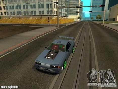 Elegy Dark Evolution Drift Final para GTA San Andreas left