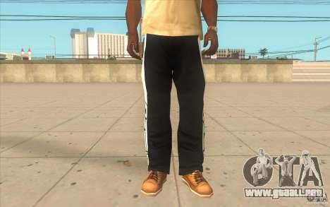Reebok Sporthose para GTA San Andreas
