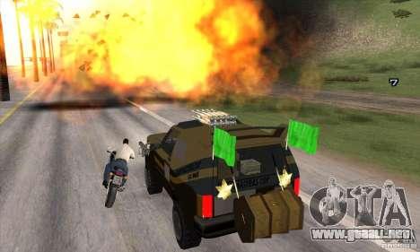 Máquina de auto-muerte muerte para GTA San Andreas sexta pantalla