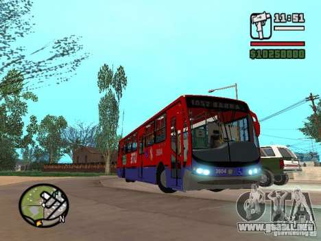 Busscar Urbanuss Pluss VW 17-230 EOD Alongado para visión interna GTA San Andreas