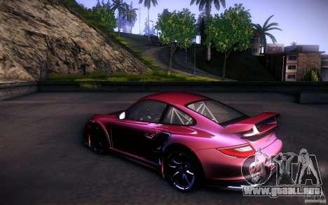 Porsche 911 GT2 RS 2012 para la vista superior GTA San Andreas